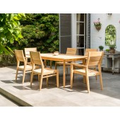 Alexander Rose Roble Mixed 6 Seat Rectangular Set