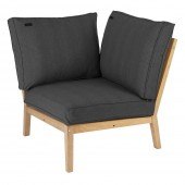 Alexander Rose Roble Lounge Corner, Charcoal