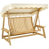 Alexander Rose Roble Swing Seat Ecru