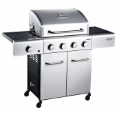 Outback Meteor Stainless Steel 4 Burner Gas BBQ