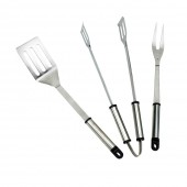 Landmann Stainless Steel 3 Piece Tool Set