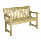 Alexander Rose Pine Marlow 4ft Bench