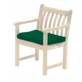 Alexander Rose Acrylic Armchair Cushion Green