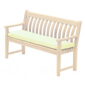 Alexander Rose Acrylic 4Ft Bench Cushion Ecru
