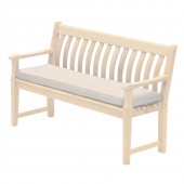 Alexander Rose Olefin 4Ft Bench Cushion Oatmeal