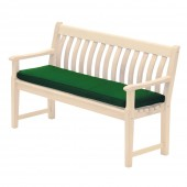 Alexander Rose Olefin 4Ft Bench Cushion Green