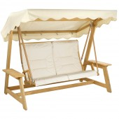 Alexander Rose Olefin Swing Seat Cushion Oatmeal