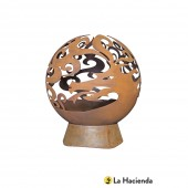 La Hacienda Large Dragon Fire Globe
