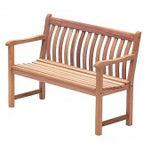 Alexander Rose Mahogany Broadfield Bench 4Ft