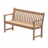 Alexander Rose Mahogany Broadfield Bench 5Ft