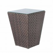 Alexander Rose Ocean Maldives Side Table 0.45X0.45M W.Glass