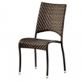 Alexander Rose Ocean Fiji Stacking Side Chair