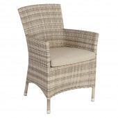 Alexander Rose Weave Armchair Cushion Oatmeal