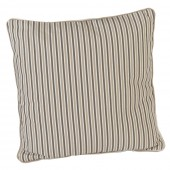 Alexander Rose Polyester Scatter Cushion Mocha Stripe
