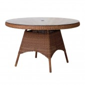 Alexander Rose San Marino Table W.Glass 1.2M Round
