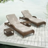 Alexander Rose San Marino Adjustable Sunbed Set