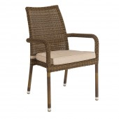 Alexander Rose San Marino Stacking Armchair
