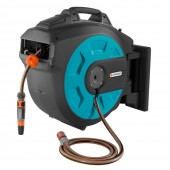 Gardena Wall-Mounted Hose Box 30m Automatic Roll Up