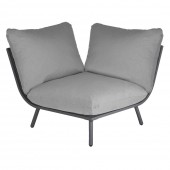 Alexander Rose Beach Lounge Corner Flint/Grey