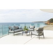 Alexander Rose Rimini 5 Seat Lounge Sofa Set