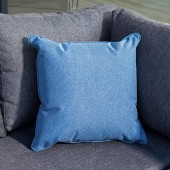 Hartman Square Weatherproof Scatter Cushion - Navy