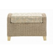 Desser Dijon Footstool and Cushion