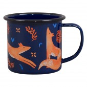 Folklore Sunrise and Sunset Enamel Mug - Fox