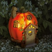 Humpkin House Solar Powered Fairy House by Smart Garden