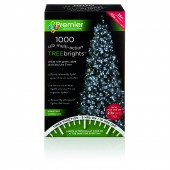 Premier 1000 LED Multi Action TreeBrights with Timer - White