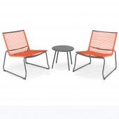 Kettler Metro Lounge Duo Set Orange