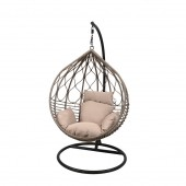 LG Outdoor Marseille Woven Hanging Garden Egg Chair