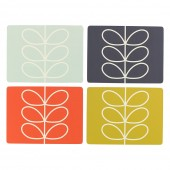 Orla Kiely Set of 4 Placemats - Linear Stem