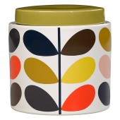 Orla Kiely Large Ceramic Storage Jar - Multi Stem