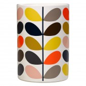 Orla Kiely Ceramic Utensils Pot - Multi Stem
