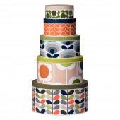 Orla Kiely Set of 5 Cake Tins