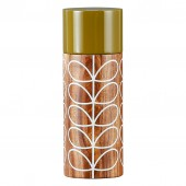 Orla Kiely Wooden Salt Mill - Solid Stem Cream