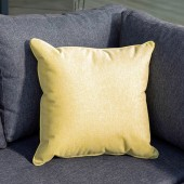 Hartman Square Weatherproof Scatter Cushion - Ochre