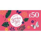 £50 National Garden Gift Vouchers