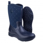 Muck Boot Arctic Weekend Navy Quilt