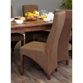 Full Back Upholstered Dining Chair (PACK OF TWO)