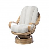 Desser Light Oak Laminated Swivel Rocker
