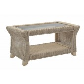Desser Clifton Coffee Table and Bronze Glass
