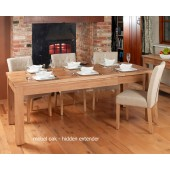 Mobel Extending Oak Dining Table (Seats 4-8)