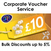 Corporate National Garden Gift Vouchers £10
