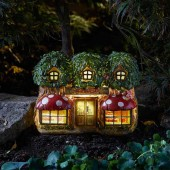 Elfridges Solar Powered Fairy House by Smart Garden