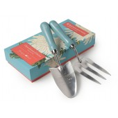 Burgon and Ball Trowel and Fork Gift Set - Chrysanthemum