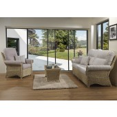 Desser Harlow 3 Piece Suite with 3 Seat Sofa