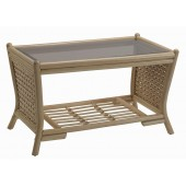 Desser Harlow Coffee Table and Glass