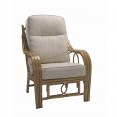 Desser Madrid Light Oak Chair and Cushions