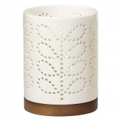Orla Kiely Ceramic  Lantern - Linear Stem Cream